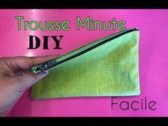 La Trousse Minute - Tuto Couture Facile - YouTube