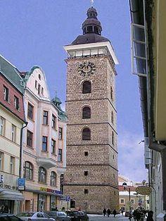 České Budějovice -The Black Tower