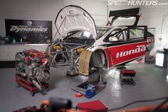 Racing No Waiting, The 2012 Btcc Civic - Speedhunters