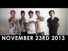 1D DAY ANNOUNCEMENT. Click on the video to go straight to their new website, 1D Day, which will be on the 23rd of November!