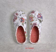chinelos de feltro