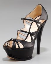 Casadei Mary-Jane Platform Pump.  I could never walk in these, but they are awesome!