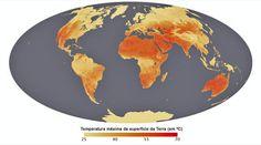 Nasa cria mapa que mostra locais do planeta com o solo mais quente http://noracomunicacao.blogspot.com.br/2012/05/nasa-cria-mapa-que-mostra-locais-do.html