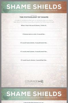 Image result for worksheets about shame and guilt   guilt/shame ...