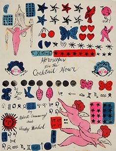Andy Warhol. Horoscopes for the Cocktail Hour