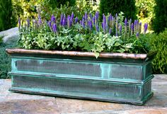 antique rectangular #window #planters fiberglass rectangular planter boxes
