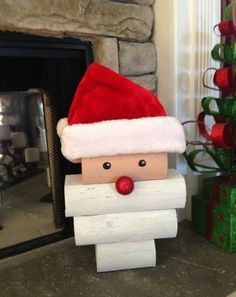 Fleece santa hat pattern 1000 free patterns new pins pinterest 17 epic christmas craft ideas fandeluxe Image collections