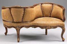 Victorian tete-a-tete seat