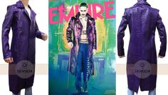 "It's Amazing Opportunity for Jared Leto Fans. ""Dewuchi"" Present's Jared Leto Suicide Squad Purple Long Coat for Boys. Here is The Most Modern Looking as Well as The most Stylish. This is The Jared Leto Crocodile Coat. Made from Soft Synthetic Leather Available at Our Online Store in Discounted Price.  #jaredleto #suicidesquadjoker #fashionableboys #hot #movies #musician #superheroclothing #photography #halloweensale #newarrival #sophistication #fashionblog #fashionista #onlineshop #halloween"