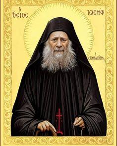 Sfântul Cuvios Iosif Isihastul | Doxologia Byzantine Icons, Orthodox Christianity, Son Of God, Orthodox Icons, St Joseph, Jesus Christ, Saints, Believe, Religion