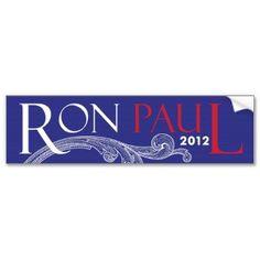 Ron Paul 2012 Bumper Stickers