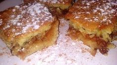 The gastrin: ΜΗΛΟΠΙΤΑ Apple Chips, Pie Cake, Brownie Bar, Greek Recipes, Coffee Cake, Apple Pie, Sweet Tooth, Cheesecake, Deserts