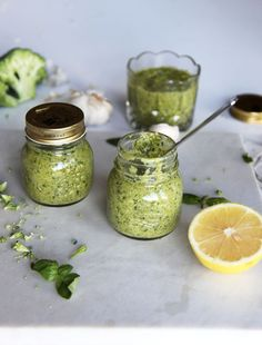 Pesto is a great way to hide veggies for fussy eaters! Add to pasta, chicken, etc.