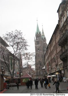 Nuremberg. I loved taking the train to go shopping here! beautiful