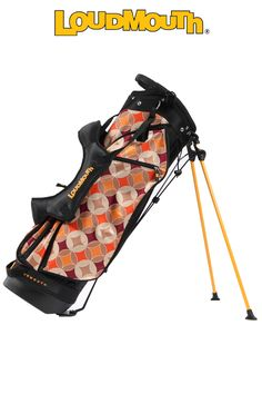 Havercamps Loudmouth Golf Stand: Order Loudmouth Golf Bags and Other Golf Bags Online.... #bags #Molhimawk