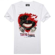 Tokyo Ghoul Japanese Short Sleeve T-Shirt - OtakuForest.com
