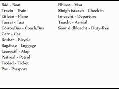 Irish Gaelic Language, Bus Coach, Outlander, Ireland, Education, Easy, Travel, Weird, Viajes
