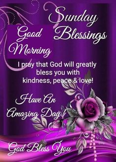 Good Morning Sunday Pictures, Blessed Sunday Morning, Blessed Sunday Quotes, Sunday Prayer, Sunday Morning Quotes, Good Morning Prayer, Good Morning Inspirational Quotes, Morning Blessings, Morning Prayers