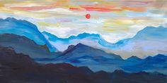 Sunrise Mountain Skyline