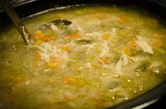 Crock Pot Chicken Vegetable Soup (Nothin' Fancy, Just Yummy). Photo by truebrit