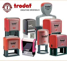 Trodat stamp products are innovative and suitable for every application consistently clean and beautiful impressions. #trodat #stamps #altarkeez #dubai #uae #contactus