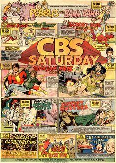 Saturday morning cartoons on CBS Vintage Comic Books, Vintage Cartoon, Vintage Comics, Vintage Tv, Old School Cartoons, 90s Cartoons, Cartoon Photo, Cartoon Tv, Cbs Saturday Morning