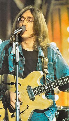"""""""Yes I'm lonely, wanna die. If I ain't dead already, girl you know the reason why"""" John singing Yer Blues at Rock and Roll Circus 1968 ~ The Dirty Mac!!"""