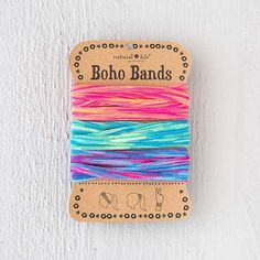 Pink, Turq, Lime Spandex Boho Bands - These Spandex Boho Bands are super versatile! Blended materials make for a soft feel and comfortable wear as a headband, hair band and bracelet!!  They're super comfy and a great way to stop hair breakage!