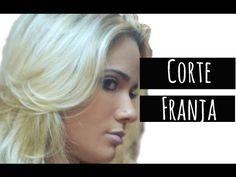 CORTANDO A FRANJA EM CASA. Por Tatiana Lobo - YouTube