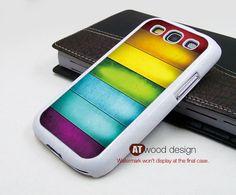 Cool colors Samsung  Galaxy S3 i9300 Case  Galaxy SIII case unique Case Samsung Case. $14.99, via Etsy.