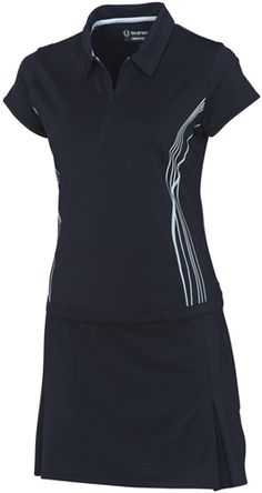 Great new golf dress from the high-performance SUNICE Silver collection. Available in 2 colors. www.golf4her.com/...
