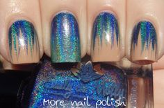 Emily de Molly - Holo waterfall and gradient (I like this but I would need a different base color)