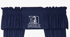 Duke Blue Devils Coordinating Valance for the Locker Room or Sidelines Collection by Kentex:… #SportingGoods #SportsJerseys #SportsEquipment