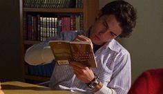 "That time Jess concentrated on reading Kurt Vonnegut so handsomely. | 36 Times Jess Mariano Completely Melted Your Heart On ""Gilmore Girls"""