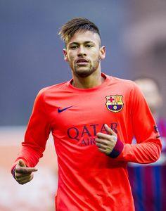 Neymar of FC Barcelona reacts during the La Liga match between SD Eibar and FC Barcelona at Ipurua Municipal Stadium on March 14, 2015 in Eibar, Spain.