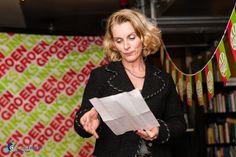 Lijsttrekker Mariette Pennarts speecht op de nieuwjaarsborrel van GroenLinks Zeist