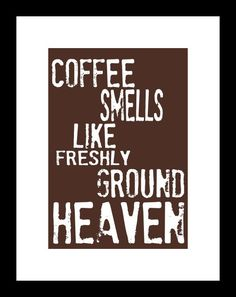 I love coffee!  #coffee #art #kitchen #decor #wall art