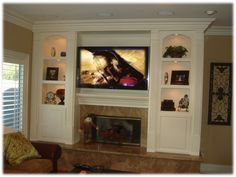 Wall Entertainment Centers with Fireplace | Fireplace Entertainment Center – Classic 5