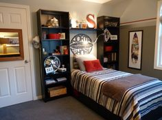 cool tween bedroom - boys' room designs - decorating ideas - hgtv