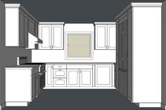 [ Draw Kitchen Cabinets Revit Cabinet Drawing What You Need Know Before Installing ] - Best Free Home Design Idea & Inspiration Kitchen Cabinet Styles, Custom Kitchen Cabinets, Custom Kitchens, Kitchen Cupboards, Small Kitchens, Kitchen Floor, Kitchen Layout, Kitchen Design, Kitchen Ideas