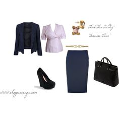 """""""Business Class"""", created by #shoppresenza on #polyvore. #fashion #style Ralph Lauren Collection Steve Madden    www.shoppresenza.com  $98"""