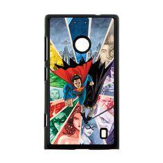 Superman Famous Enemy Case for Nokia Lumia 520