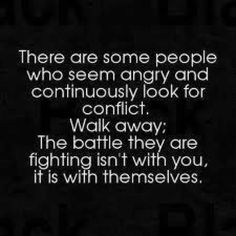 Letting go of toxic people especially those who are always accusing you of being the toxic one...