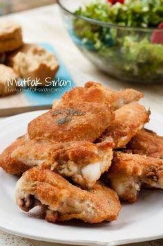 ayranlı tavuk kızartma