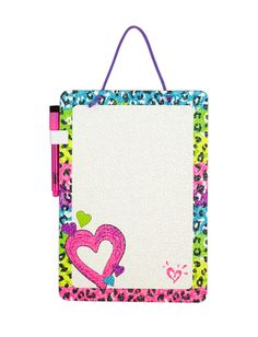 Girls Clothing   Room Accessories   Leopard Dry Erase Board   Shop Justice