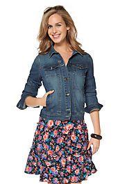 Cheer Kurzjacke - Damenmode Mantel, Denim, Floral, Skirts, Cheer, Tops, Women, Fashion, Jackets