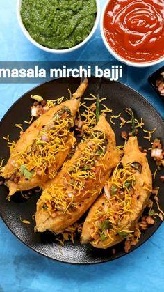 Pakora Recipes, Samosa Recipe, Paratha Recipes, Chaat Recipe, Veg Recipes, Spicy Recipes, Curry Recipes, Cooking Recipes, Rajbhog Recipe