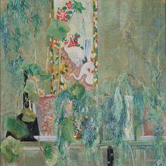 John Rädecker, Bloemstilleven met Kakemono, olieverf op doek, 1910. Collectie Museum Arnhem.