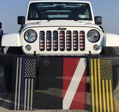 Jeep Wrangler Grill cover
