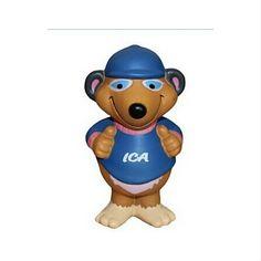 Custom Printed PU Stress Toys Bear